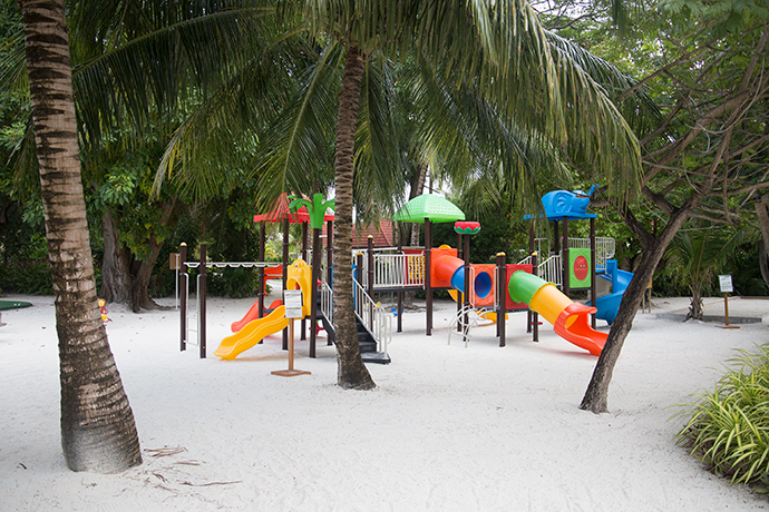 Maldive resort kids friendly