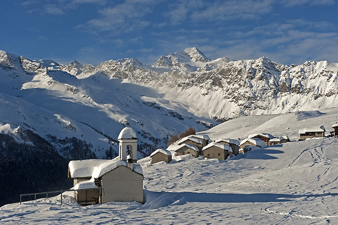 Madesimo Valtellina en hiver