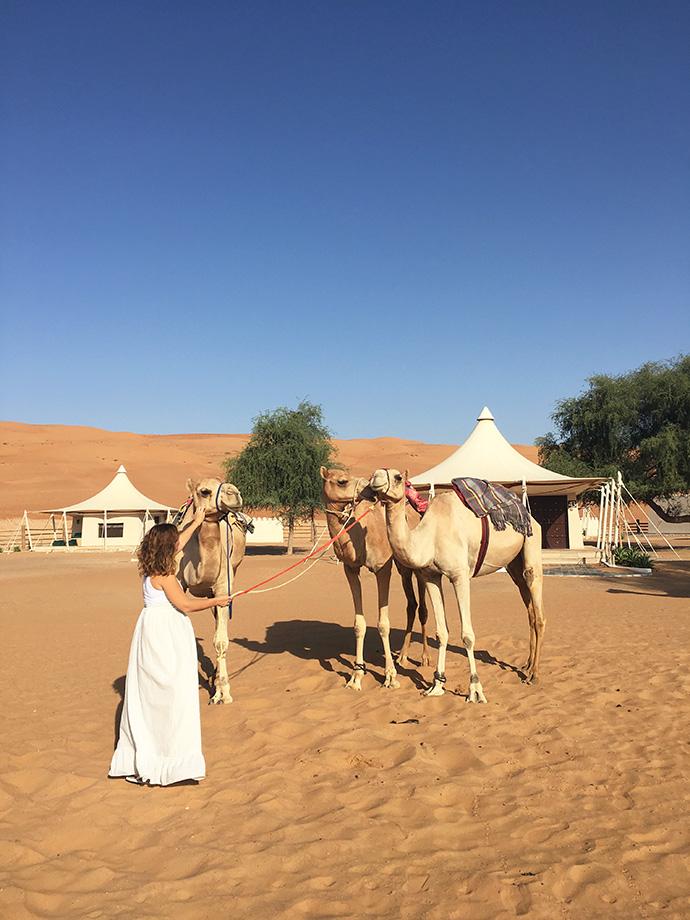 Viaggio in Oman deserto