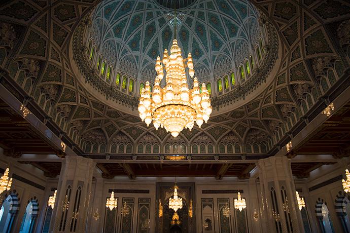 Viaggio in oman moschea di Muscat