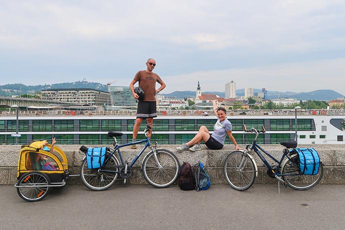 ciclabile del Danubio