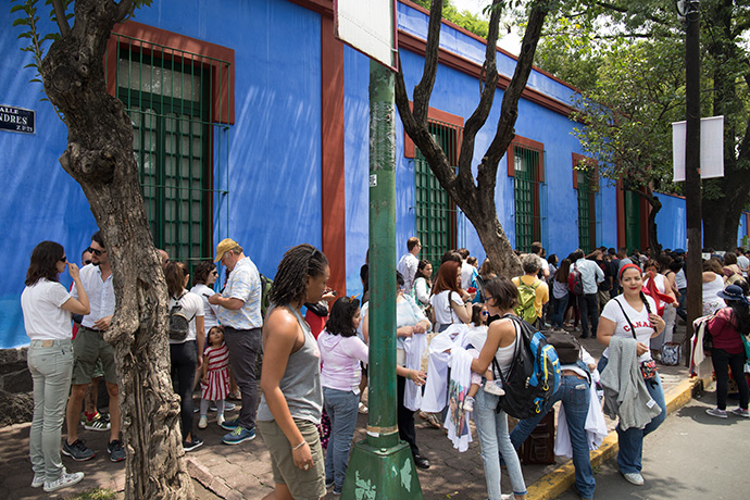 Frida Kahlo città del Messico