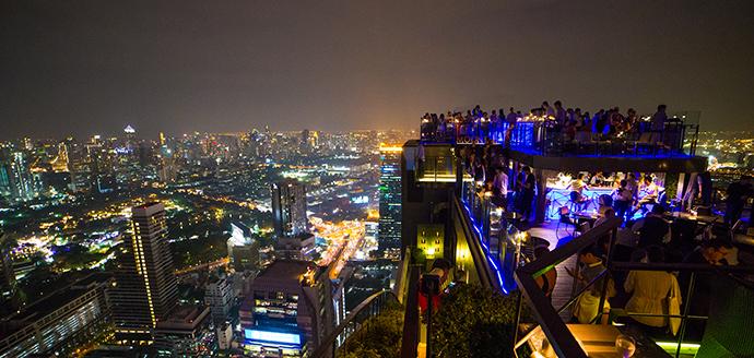 cosa fare a Bangkok la sera