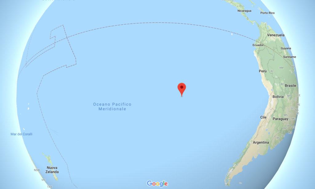 Isola di Pasqua mappa