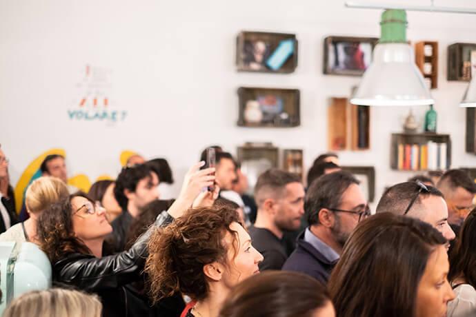 inaugurazione Pop Corner Lab