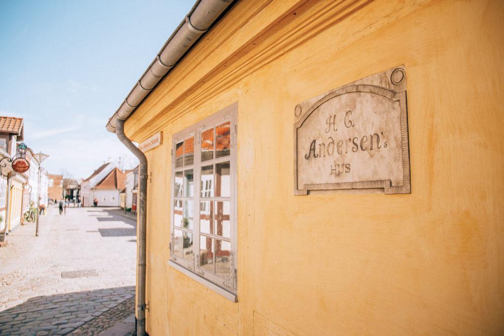 Odense casa natale di Andersen