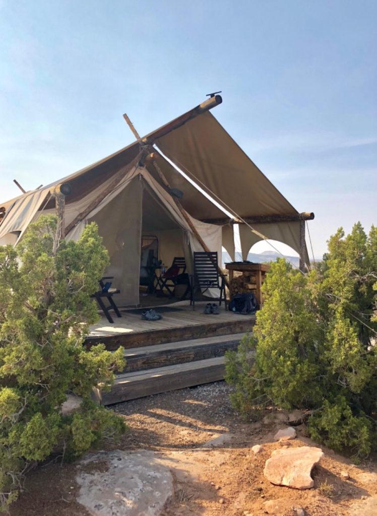 La nostra tenda glamping Utah