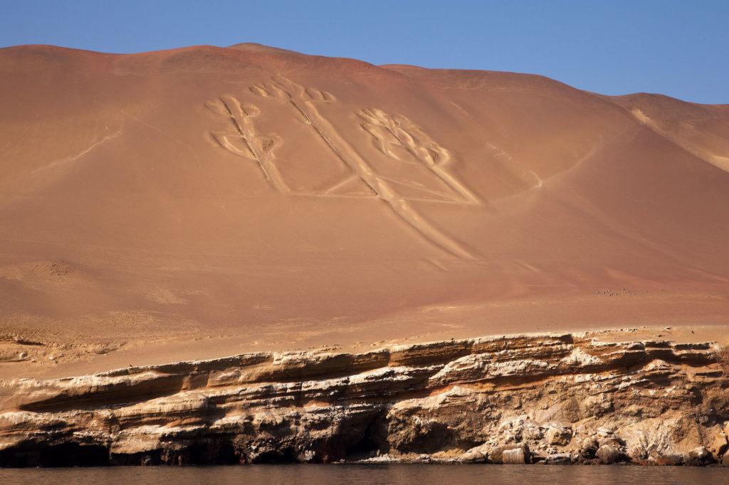Cosa vedere in Perù Paracas candelabro