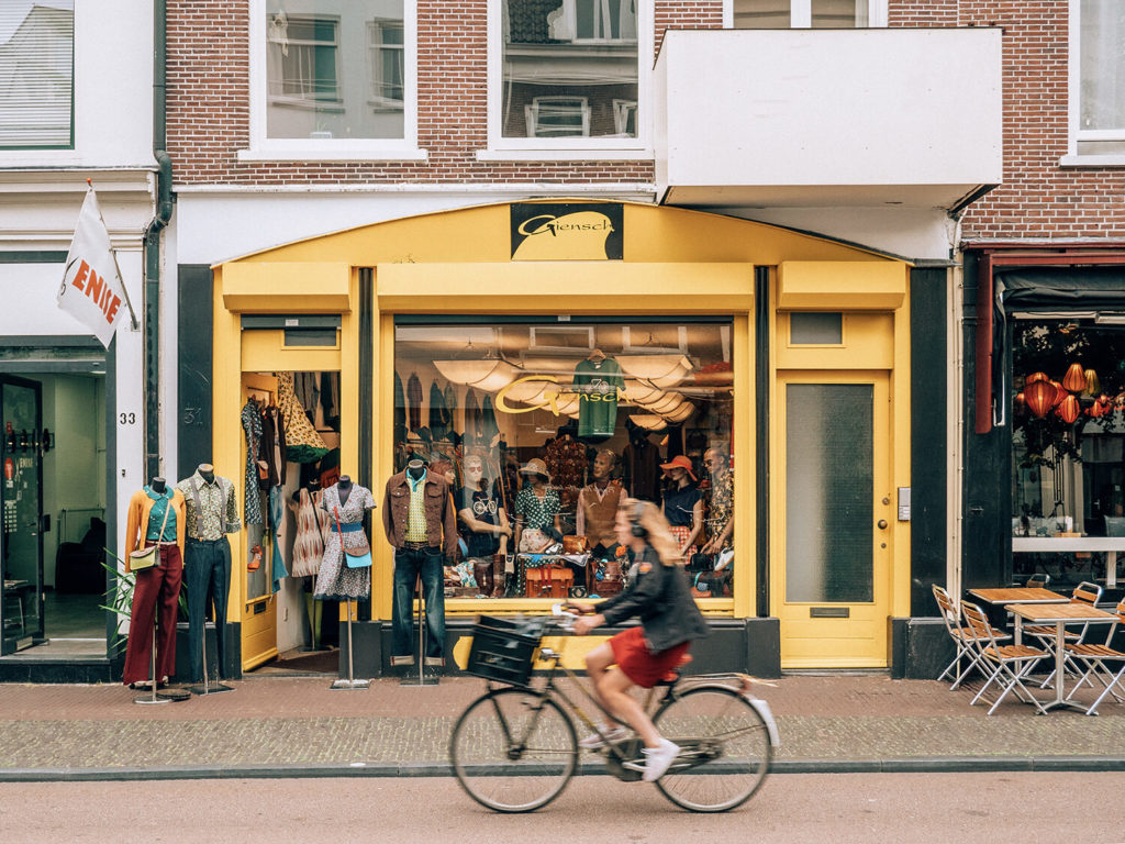Utrecht in bicicletta