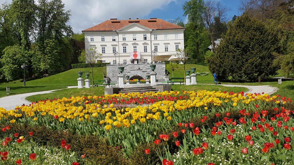 Parco di tivoli Lubiana Slovenia
