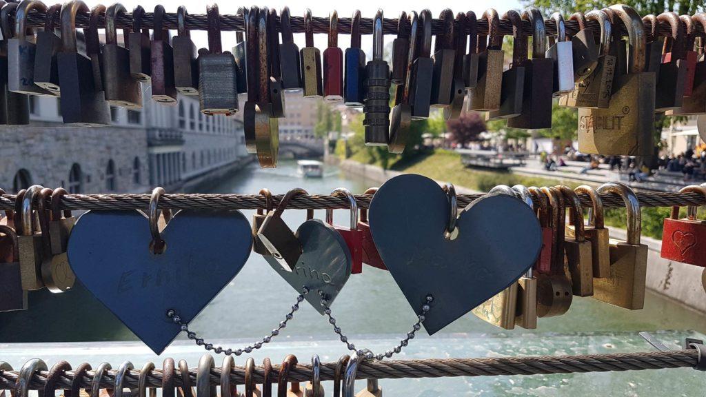 Ponte dell'amore Lubiana