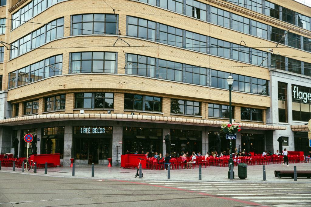 cafe Belga Bruxelles
