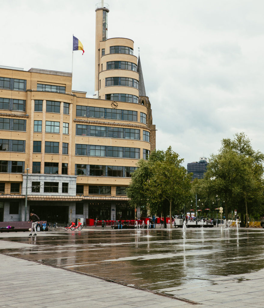 Place Flagey Bruxelles