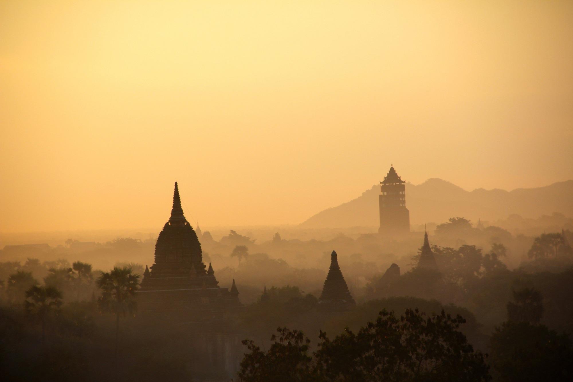 Birmania cosa vedere - Templi di Bagan