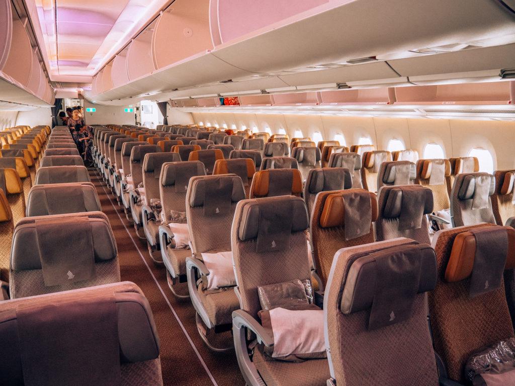 Singapore Airlines economy Premium