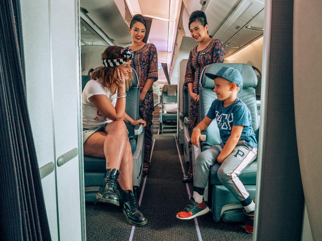 volare con Singapore Airlines