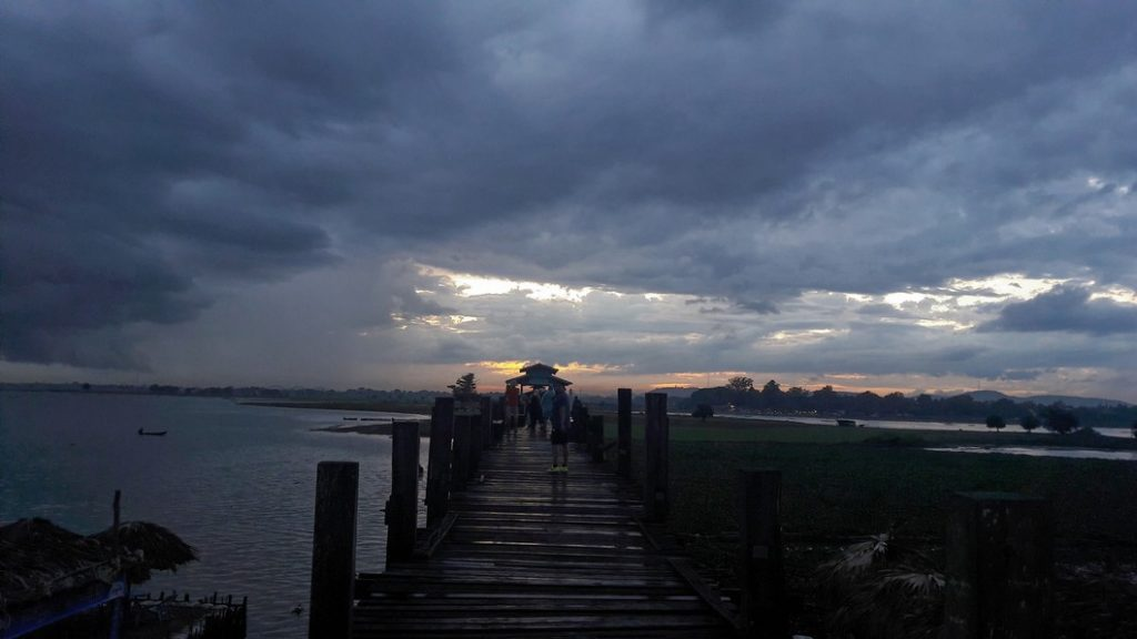 U bein bridge birmania