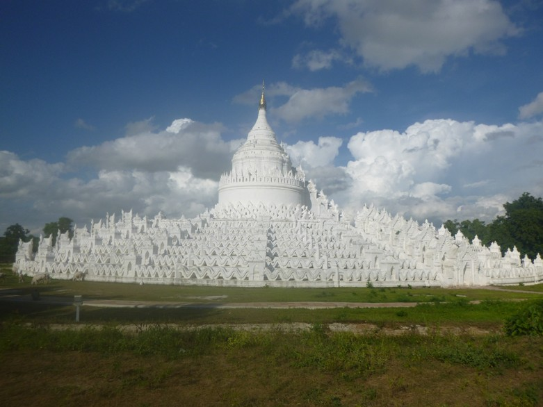 White Pagoda Mandalay