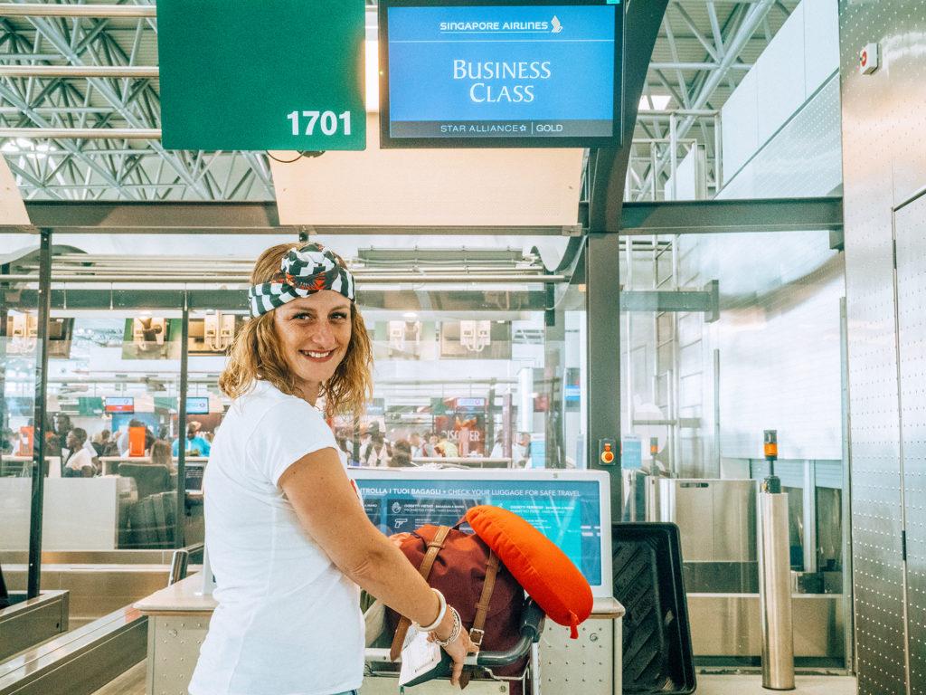 Singapore Airlines Milano