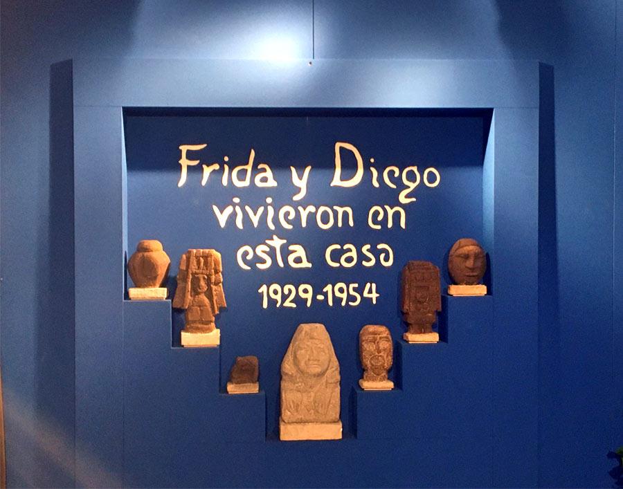 Ricostruzione della casa di Frida Kahlo