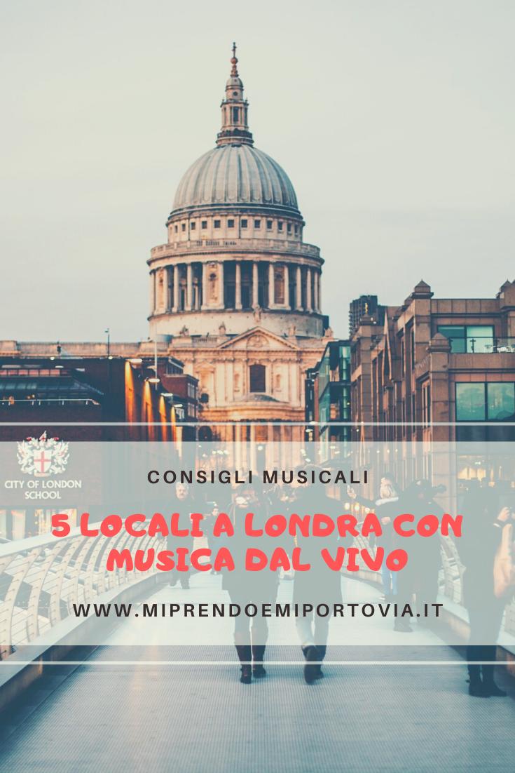 5 locali con musica dal vivo a Londra - Pinterest