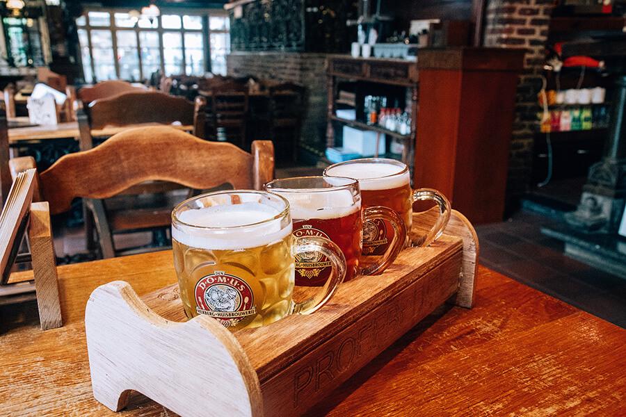 tour della birra nelle Fiandre