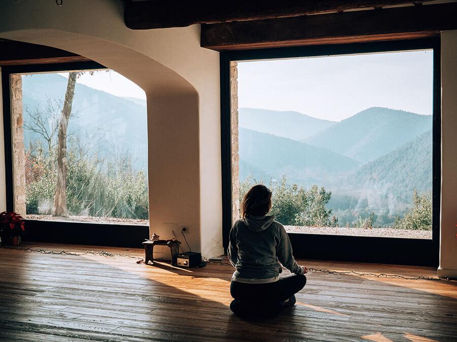 Hotel in Umbria sala yoga