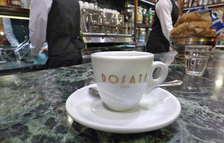 Caffè storici di Roma Bar Rosati
