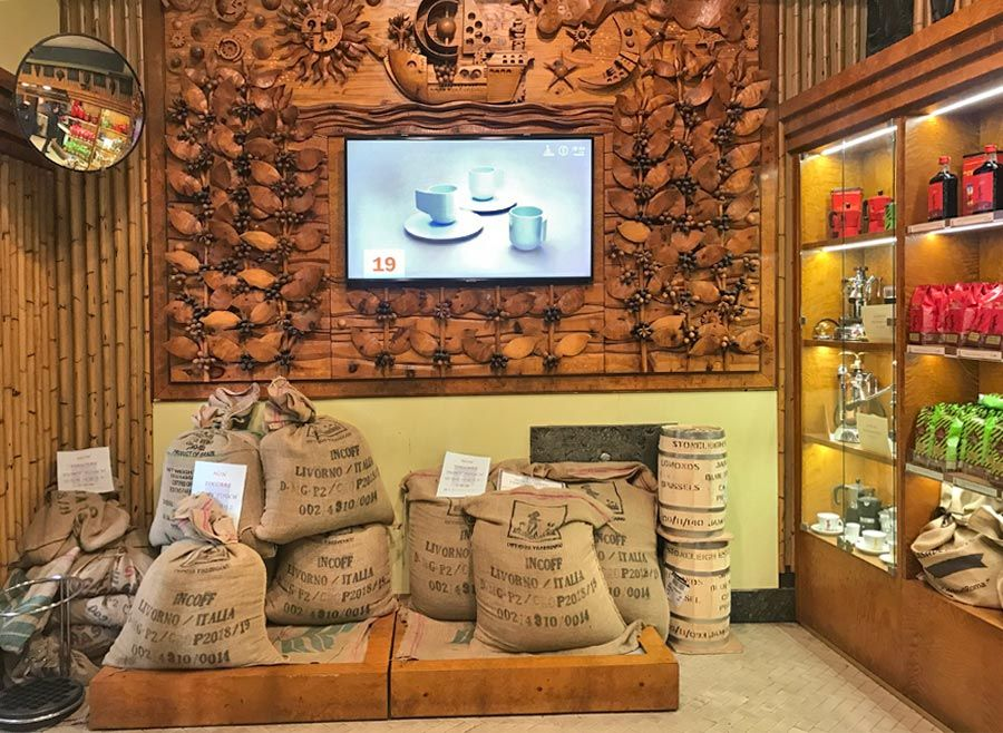 caffè storici Roma Tazza d'oro