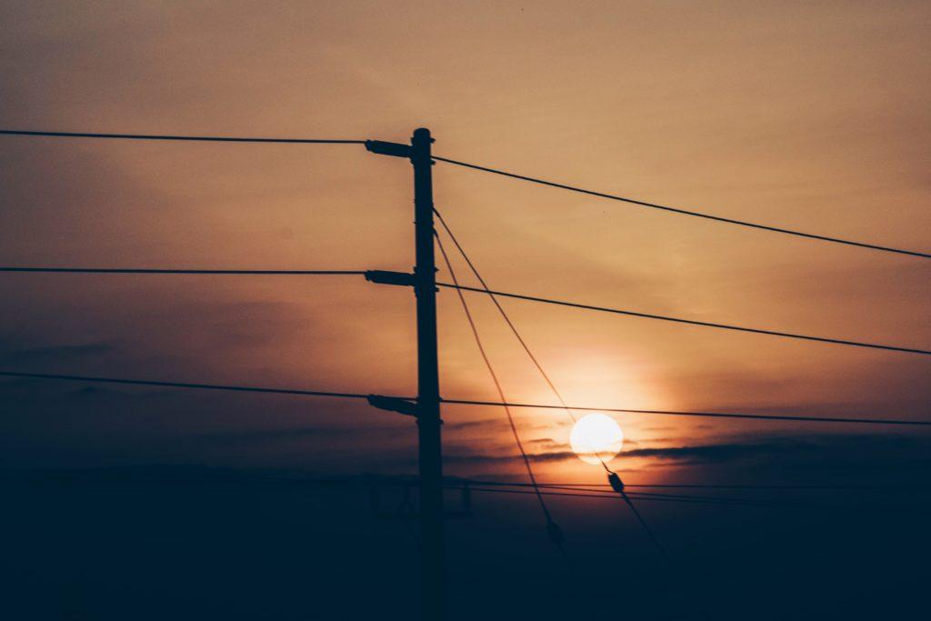 tramonto in kenya