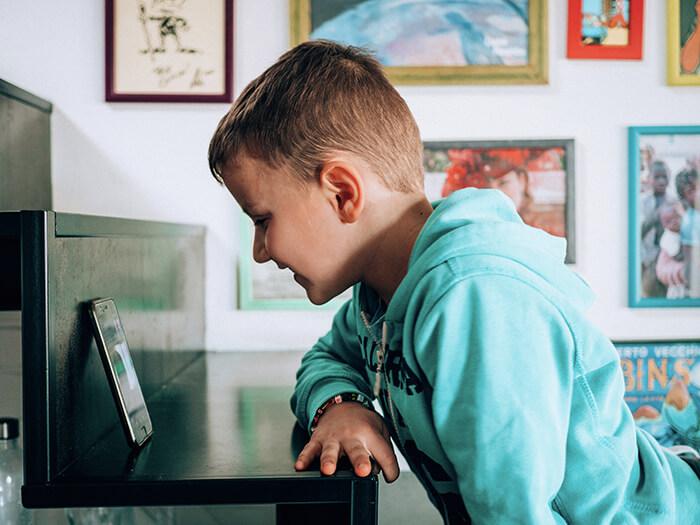 Lavorare a casa con i figli