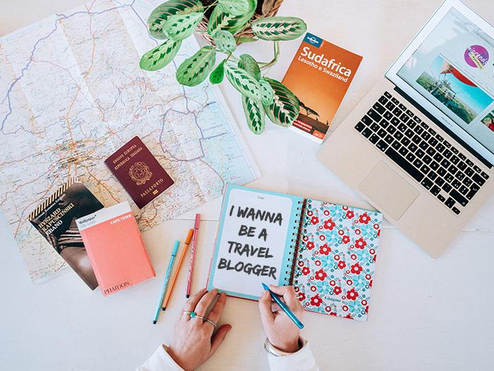 I wanna be a travel blogger