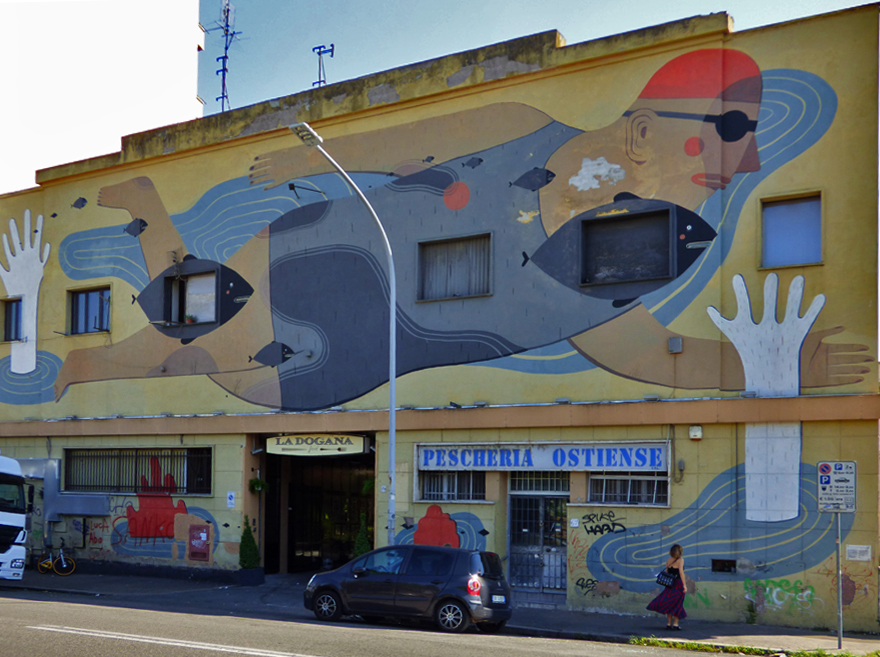posti instagrammabili Roma murales Roma