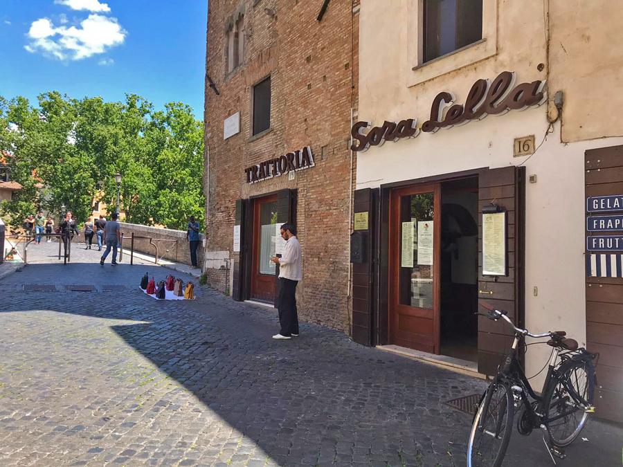 dove mangiare a Roma Sora Lella