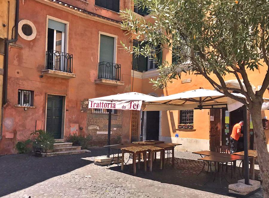 dove mangiare a Roma da Teo