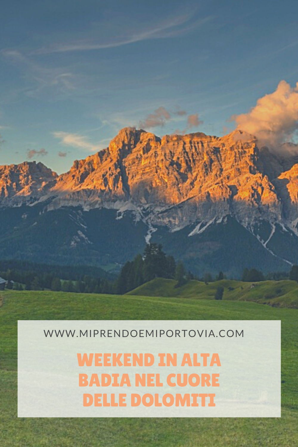 Weekend in Alta Badia