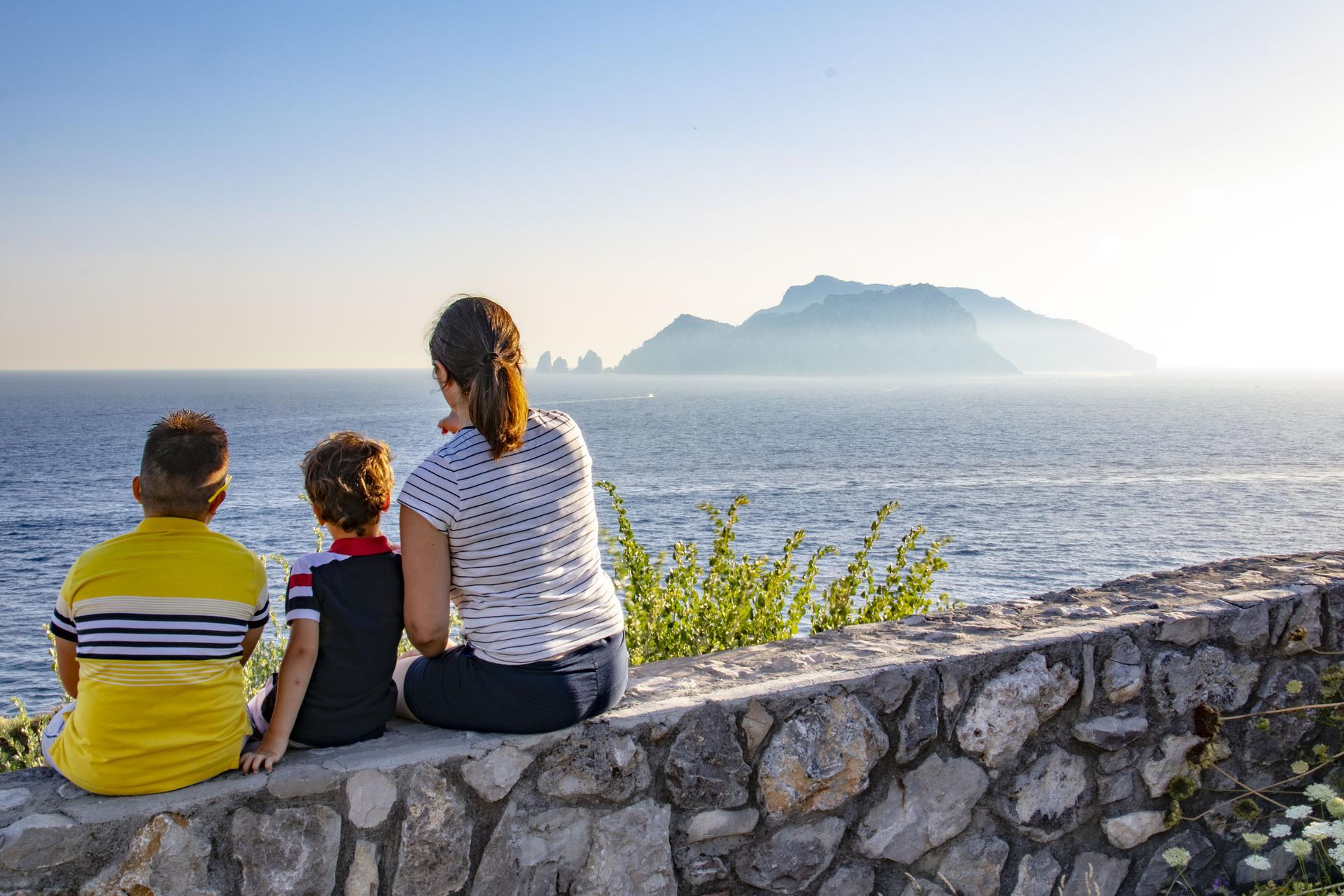 Massa Lubrense da Capri