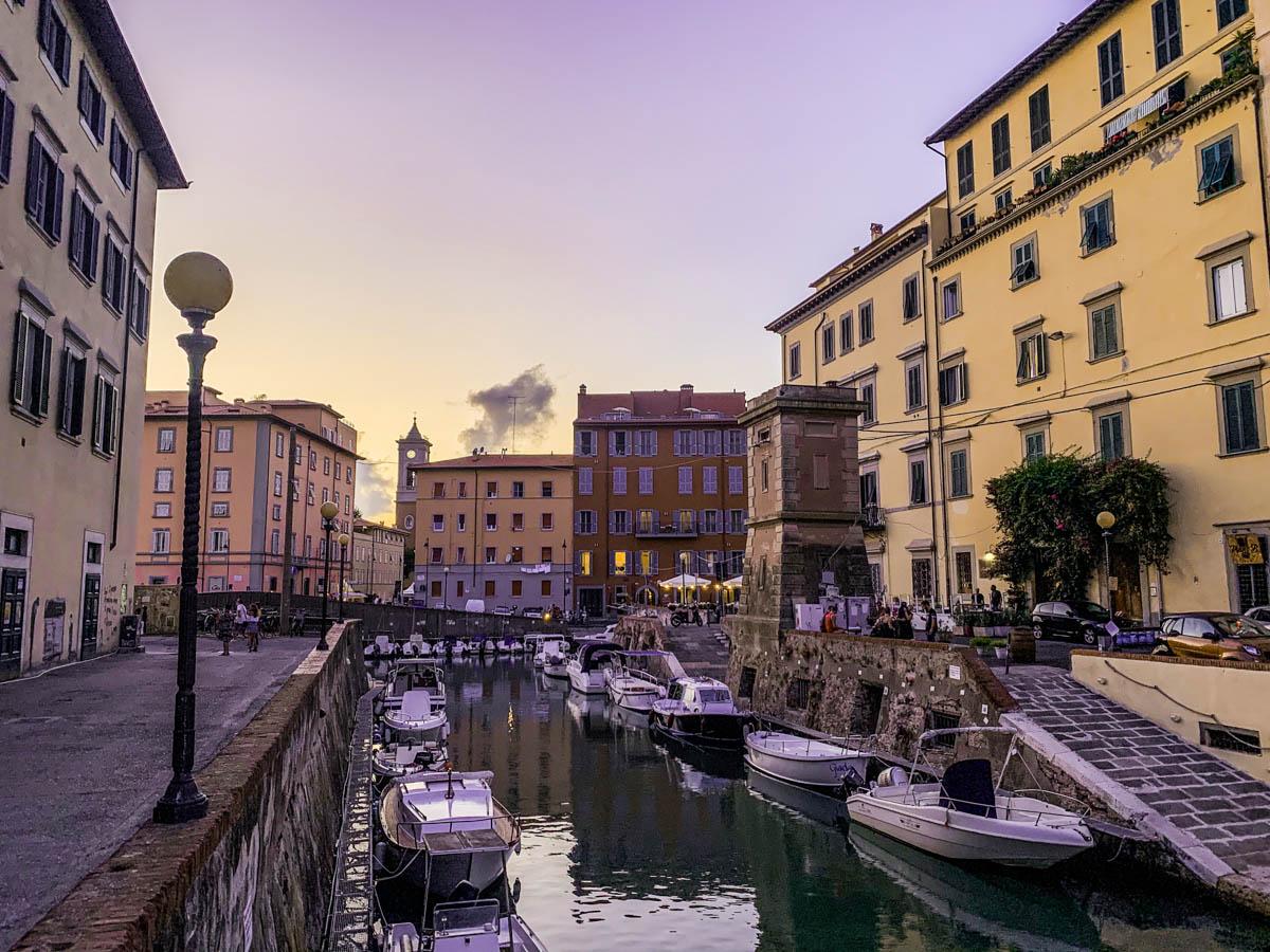 centro storico livorno canali