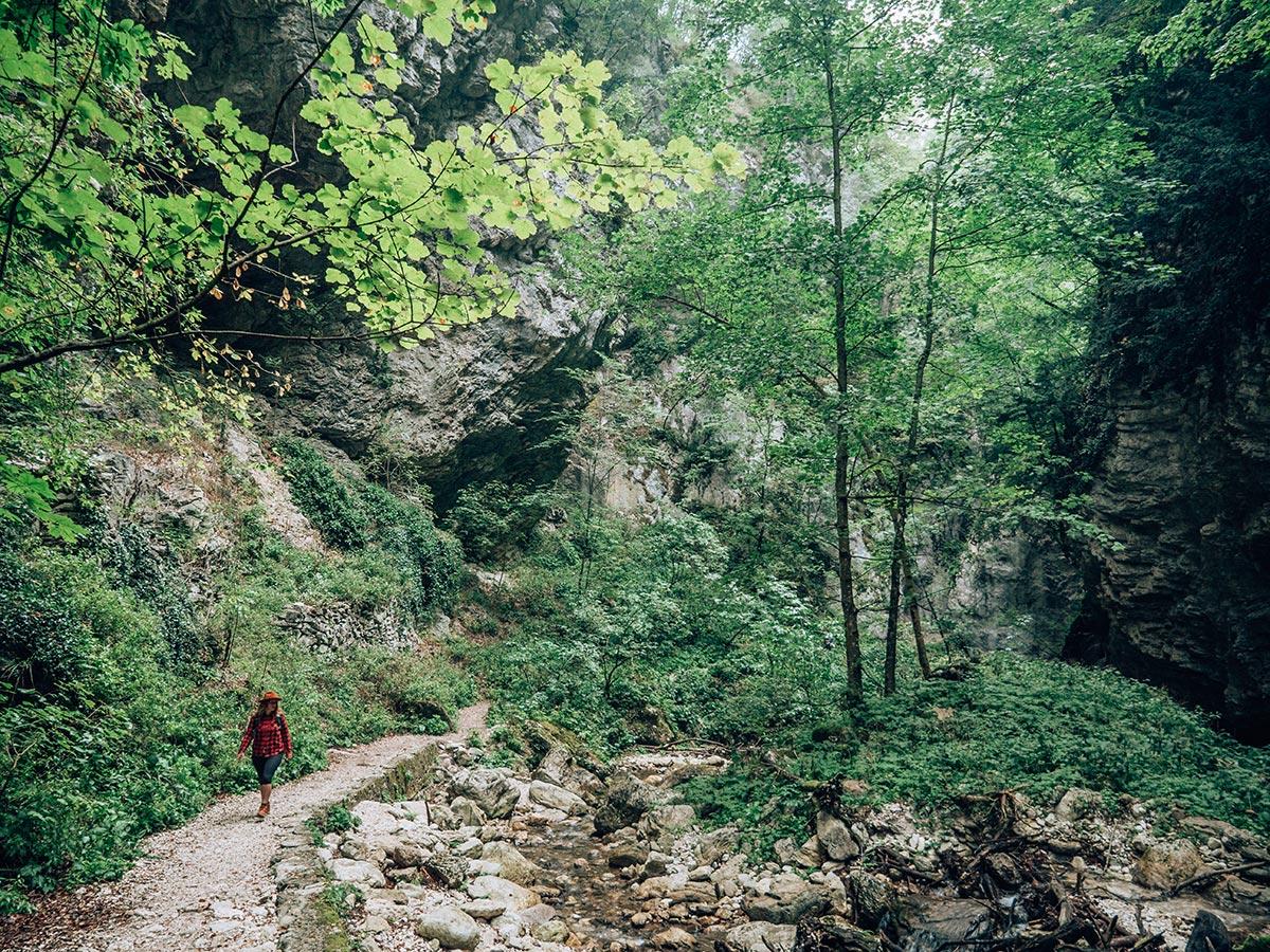 Gola dell'Infernaccio escursione