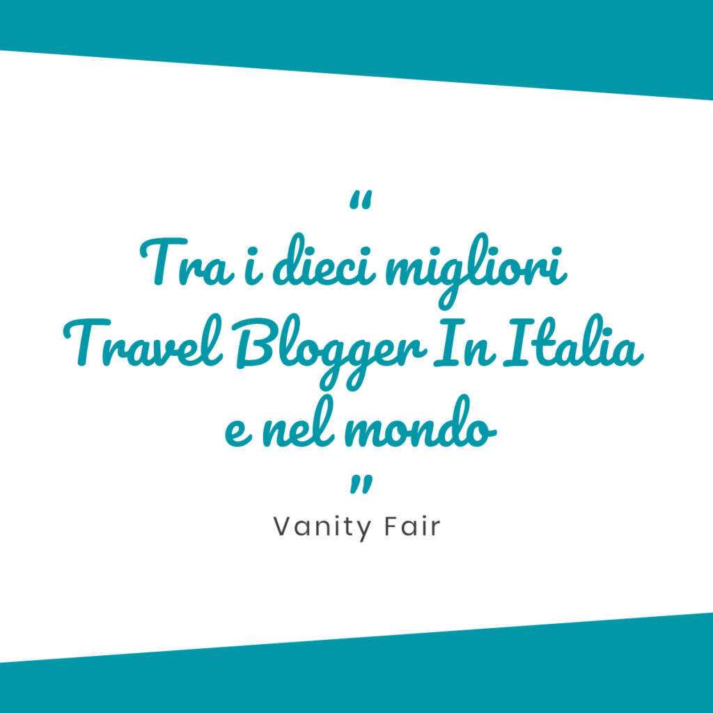 Vanity Fair - Travel blogger - Media Room