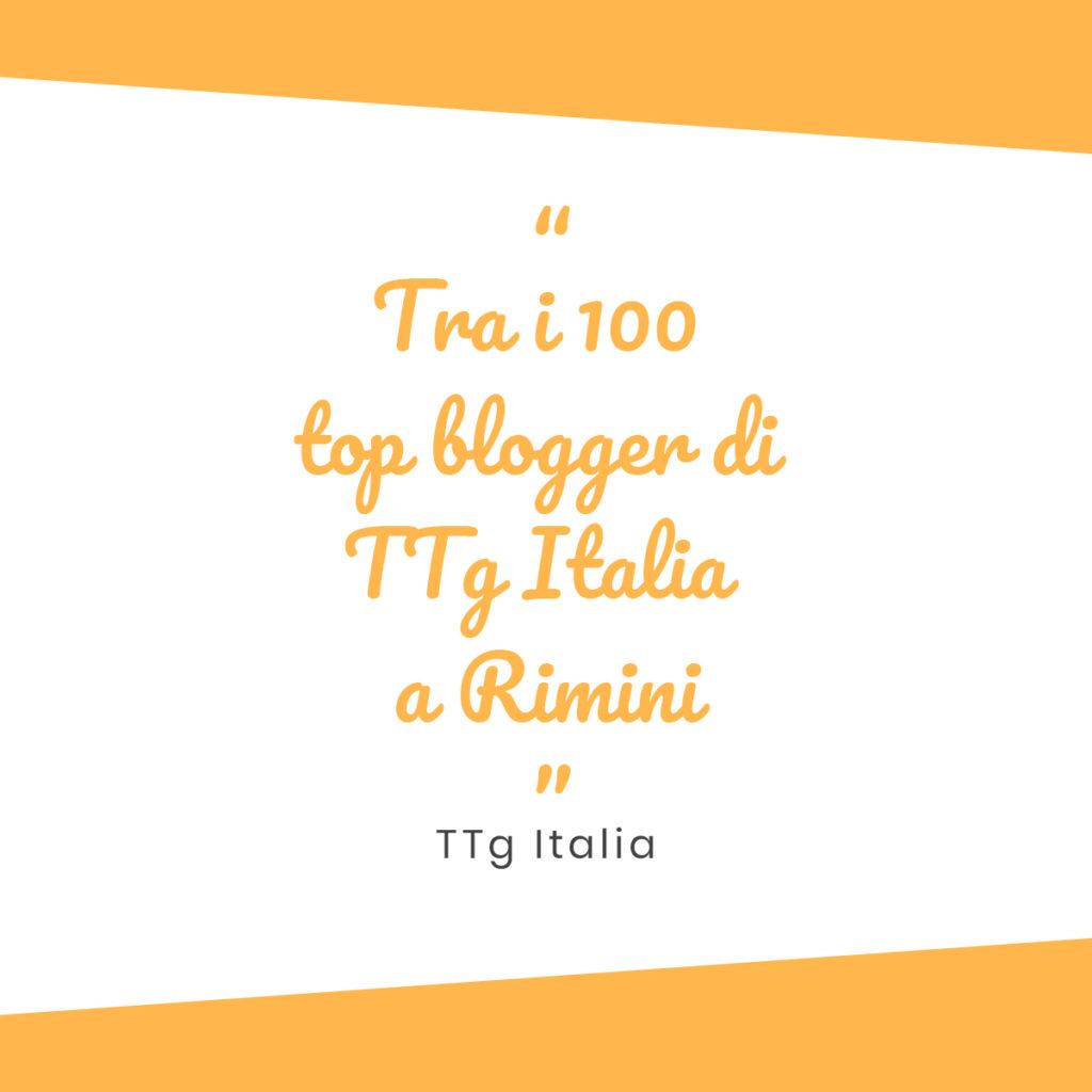 TTG Italia - blogger - miprendoemiportovia