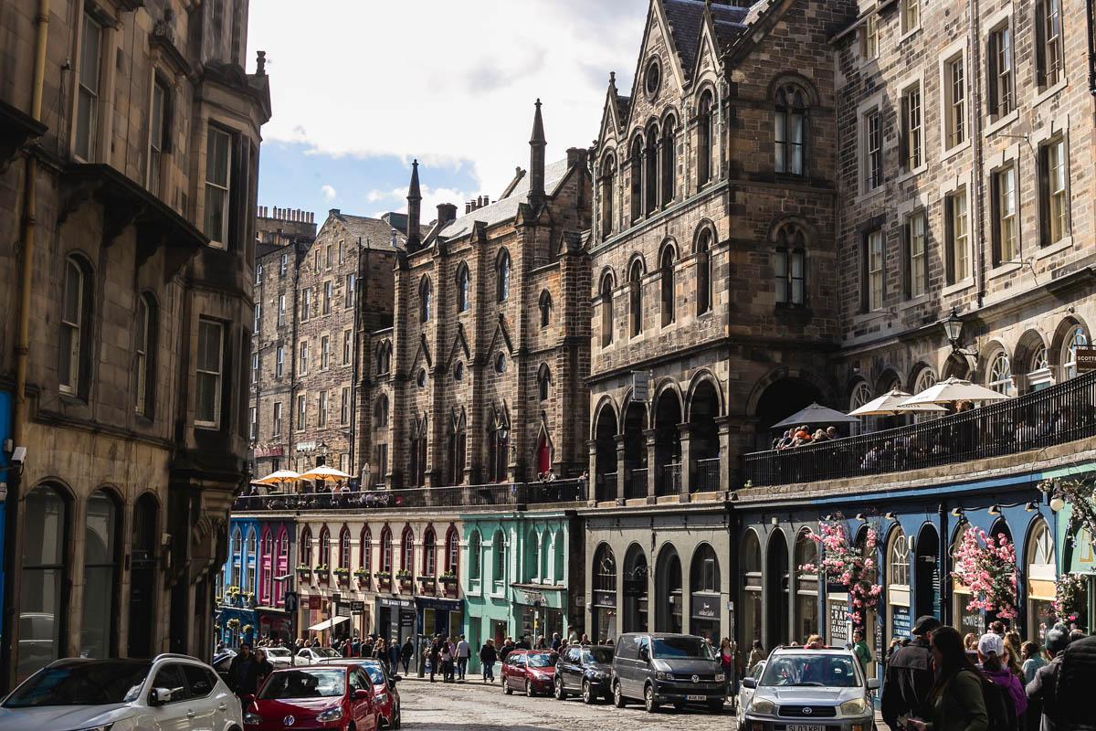 High Street Edimburgo