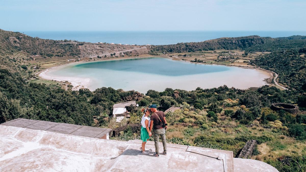 Pantelleria Lago Specchio di venere