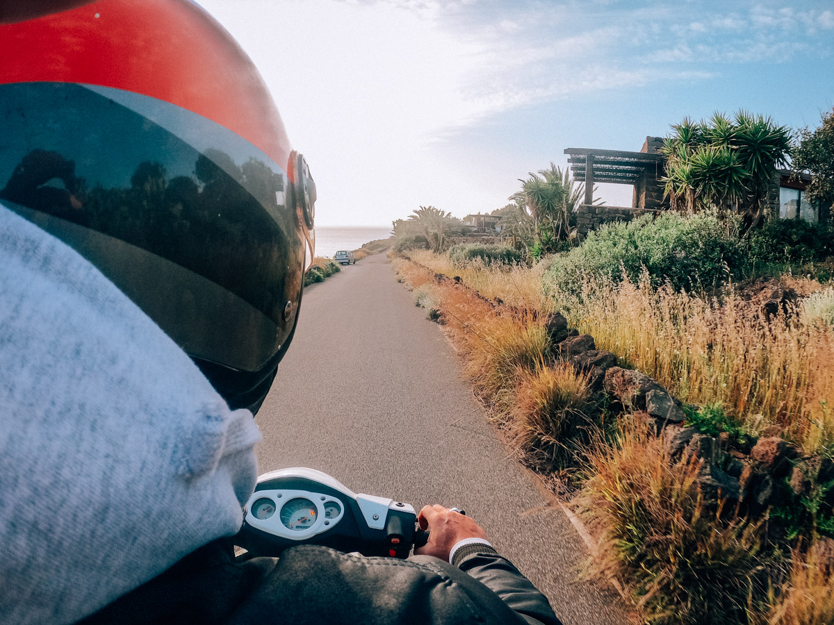 noleggio scooter Pantelleria