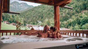 romantico chalet di montagna
